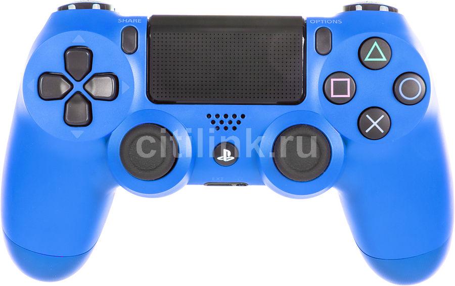 Геймпад Беспроводной PLAYSTATION Dualshock 4,  для PlayStation 4, синий [ps719894155]