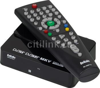 Ресивер DVB-T2HARPER HDT2-1202, черный