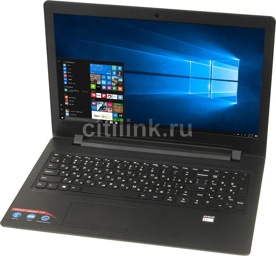 Ноутбук LENOVO IdeaPad 110-15ACL, 15.6