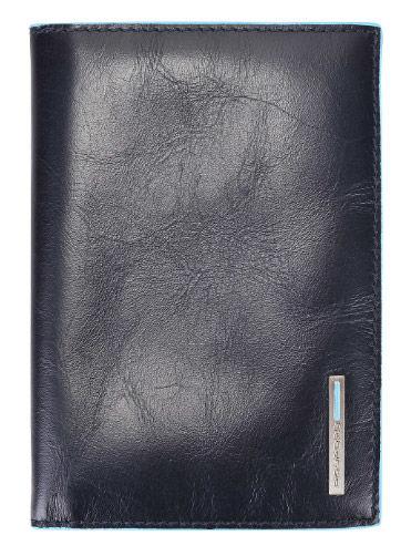 Обложка для паспорта Piquadro Blue Square AS300B2/BLU2 синий натур.кожа