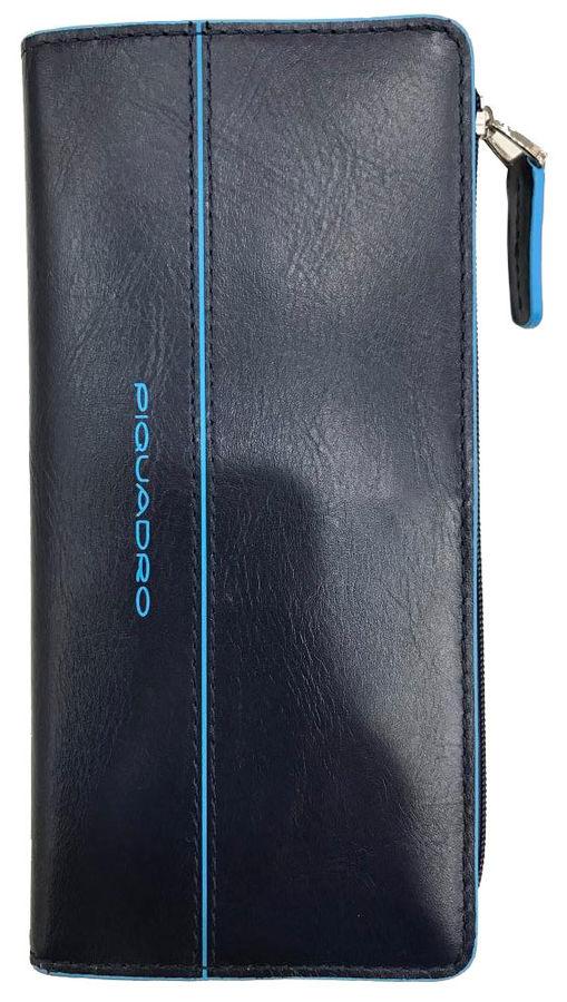 Портмоне Piquadro Blue Square AS458B2/BLU2 синий натур.кожа