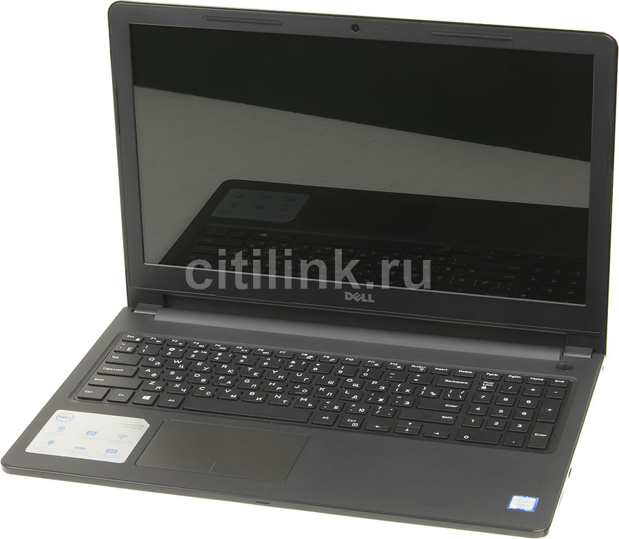 Ноутбук DELL Inspiron 3567, 15.6, Intel Core i3 6006U, 2.0ГГц, 4Гб, 1000Гб, Intel HD Graphics 520, DVD-RW, Windows 10, черный [3567-7862]Ноутбуки<br>экран: 15.6;  разрешение экрана: 1366х768; процессор: Intel Core i3 6006U; частота: 2.0 ГГц; память: 4096 Мб, DDR4; HDD: 1000 Гб, 5400 об/мин; Intel HD Graphics 520; DVD-RW; WiFi;  Bluetooth; HDMI; WEB-камера; Windows 10<br><br>Линейка: Inspiron