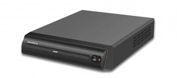 DVD-плеер SUPRA DVS-202X,  черный