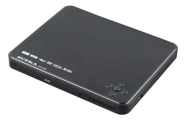 DVD-плеер SUPRA DVS-206X,  черный