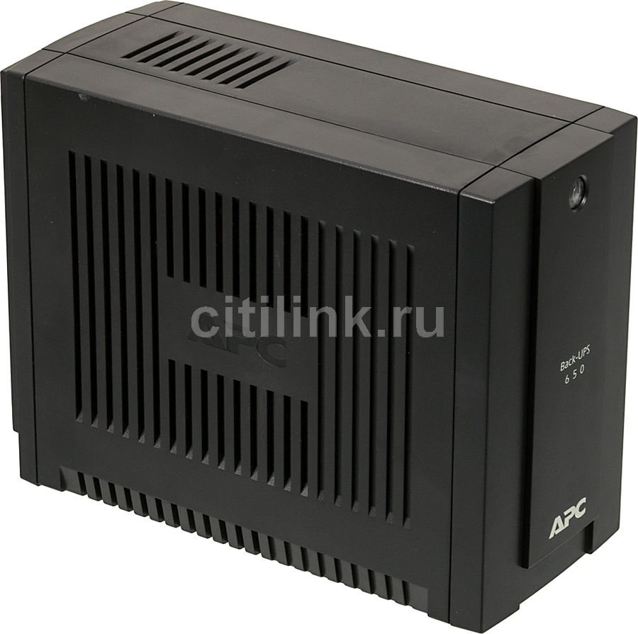 Источник бесперебойного питания APC Back-UPS BC650I-RSX,  650ВA