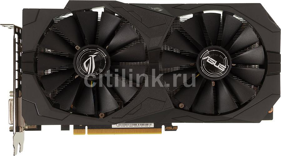 Видеокарта ASUS GeForce GTX 1050,  STRIX-GTX1050-O2G-GAMING,  2Гб, GDDR5, OC,  Ret