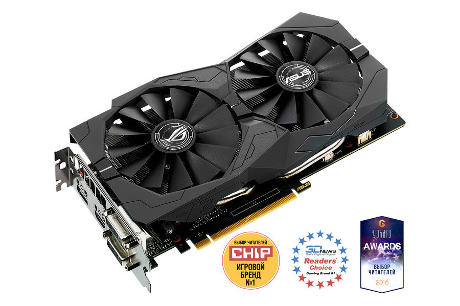 Видеокарта ASUS nVidia  GeForce GTX 1050 ,  STRIX-GTX1050-2G-GAMING,  2Гб, GDDR5, Ret