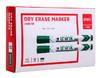 Маркер для досок Deli EU00250 Think скошенный пиш. наконечник 2-5мм зеленый вид 2