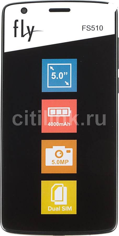 Смартфон FLY Nimbus 12 FS510  черный