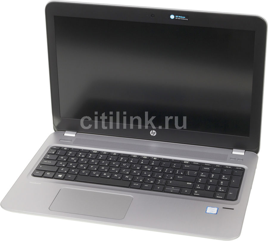 "Ноутбук HP ProBook 450 G4, 15.6"", Intel  Core i7  7500U 2.7ГГц, 8Гб, 256Гб SSD,  nVidia GeForce  930MX - 2048 Мб, DVD-RW, Windows 10 Professional, Y7Z98EA,  серебристый"