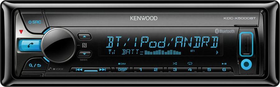 Автомагнитола KENWOOD KDC-X5000BT,  USB
