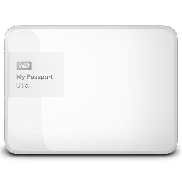 Внешний жесткий диск WD My Passport Ultra WDBNFV0020BWT-EEUE, 2Тб, белый