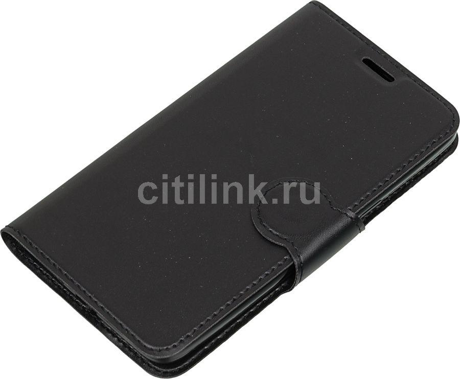 Чехол (флип-кейс) REDLINE Book Type, для Samsung Galaxy J2 Prime, черный [ут000010020]