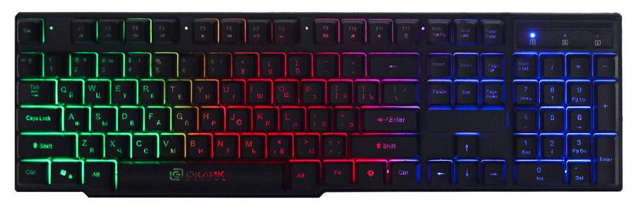 Клавиатура OKLICK 780G SLAYER, черный