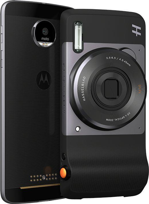 Внешний мод фотокамера Moto Hasselblad True Zoom для Moto Z/Z Play черный (ASMRCPTBLKEU)