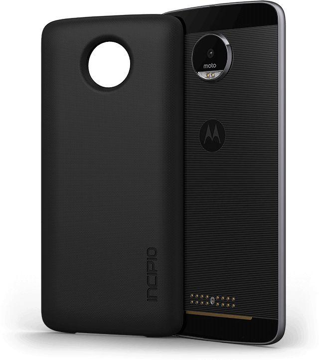 Внешний мод батарея Moto Incipio для Moto Z/Z Play 2200mAh черный (ASMESPRBLKEU)