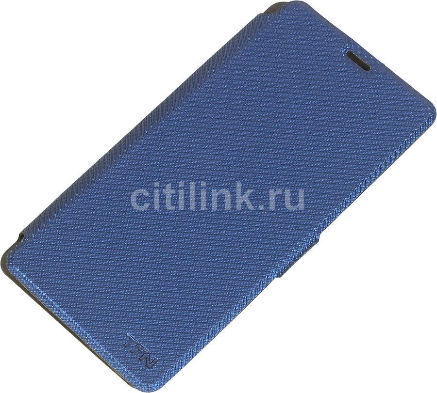 Чехол (флип-кейс)  FlipCover, для Meizu U10, синий [tfn-bc-08-007publ]