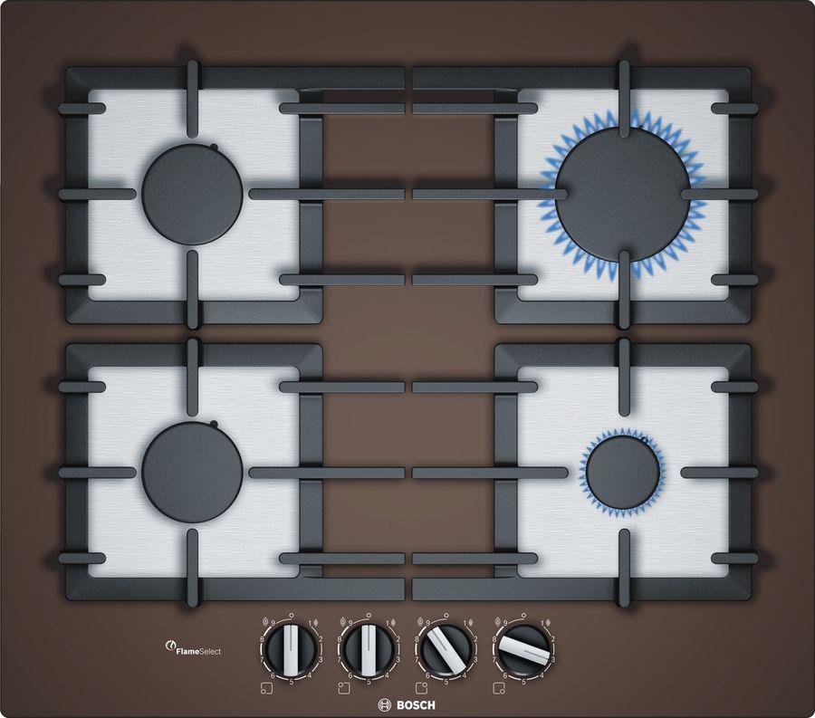 Варочная панель BOSCH PPP6A4B90R,  независимая,  коричневый