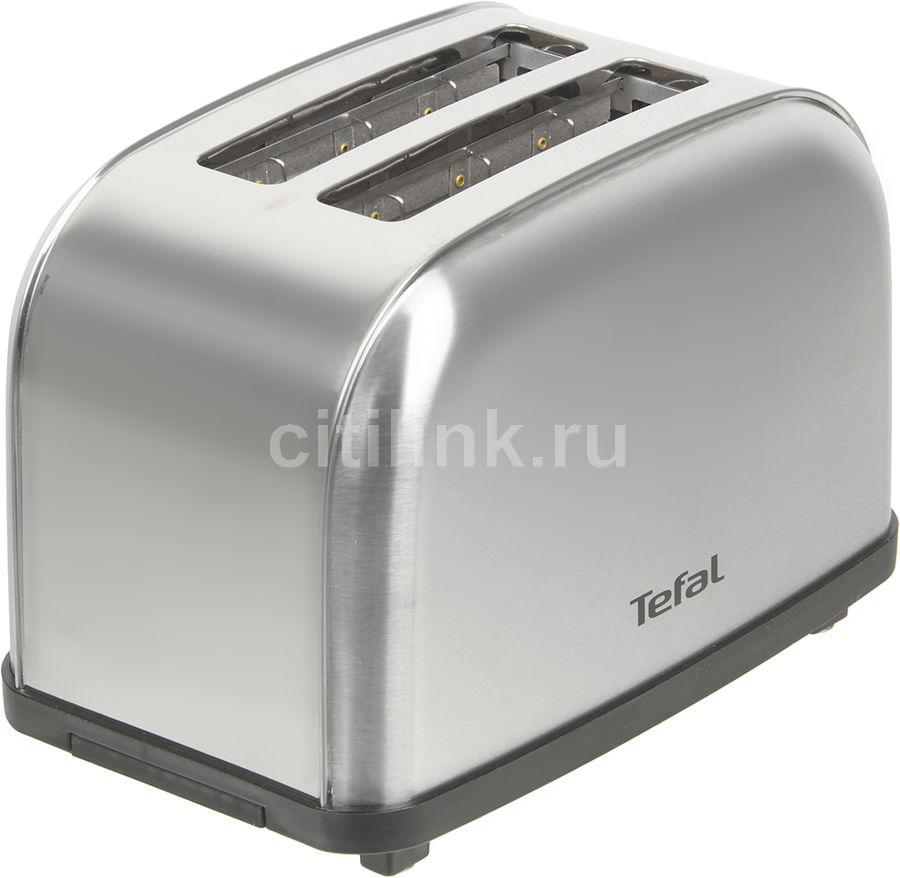 Тостер TEFAL TT330D30,  серебристый/черный [8000035883]