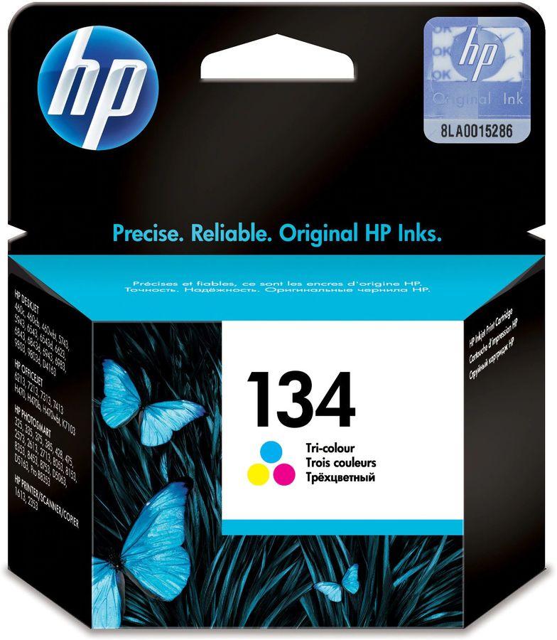 Картридж HP 134, многоцветный [c9363he]