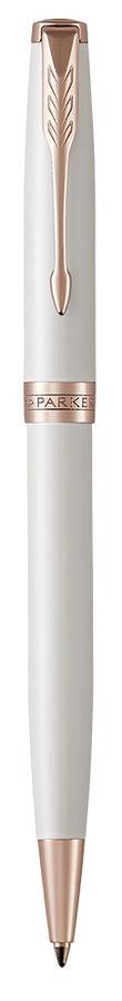 Ручка шариковая Parker Sonnet Premium K540 (1931555) Pearl PGT M черные чернила подар.кор.