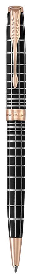 Ручка шариковая Parker Sonnet Premium K531 Masculine (1931483) Brown PGT M черные чернила подар.кор.