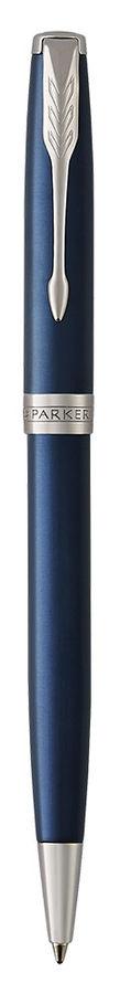 Ручка шариковая Parker Sonnet Core K539 (1931536) LaqBlue CT M черные чернила подар.кор.