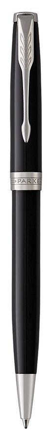 Ручка шариковая Parker Sonnet Core K530 (1931502) LaqBlack CT M черные чернила подар.кор.