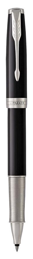 Ручка роллер Parker Sonnet Core T530 (1948081) LaqBlack СT F черные чернила подар.кор.