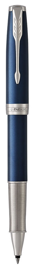 Ручка роллер Parker Sonnet Core T539 (1948087) LaqBlue CT F черные чернила подар.кор.