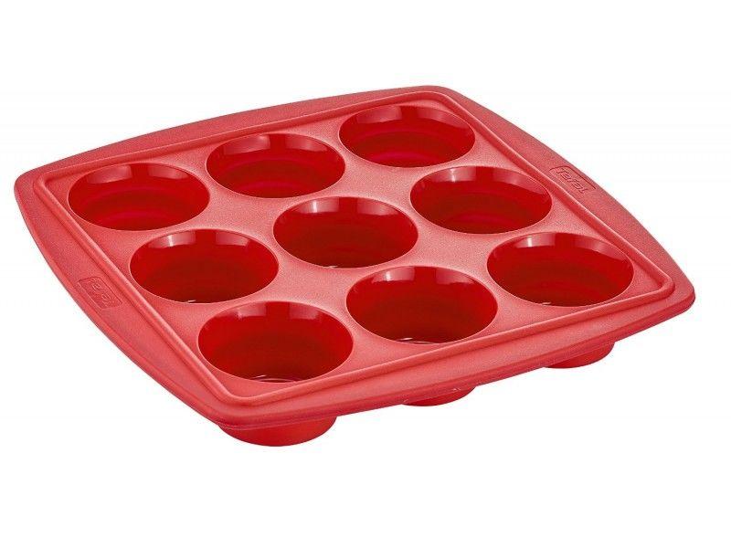 Форма для выпечки Tefal J4094714 прямоуг. 30x30см силикон красный (2100088472)