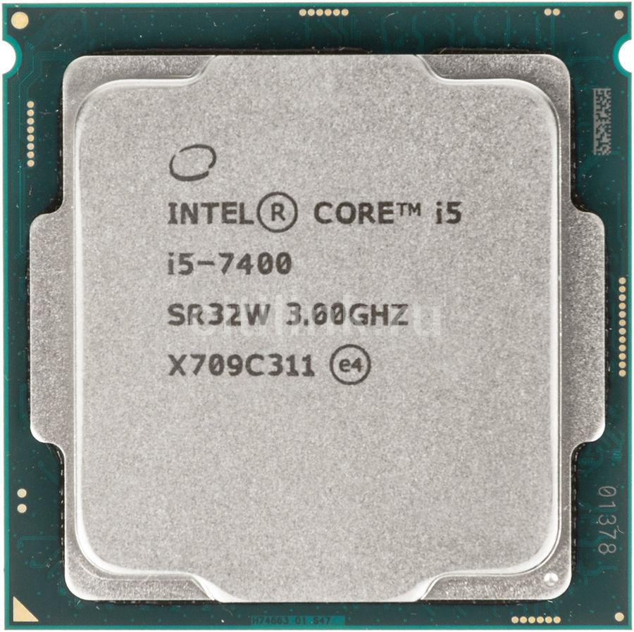 Процессор INTEL Core i5 7400, LGA 1151 OEM [cm8067702867050s r32w]