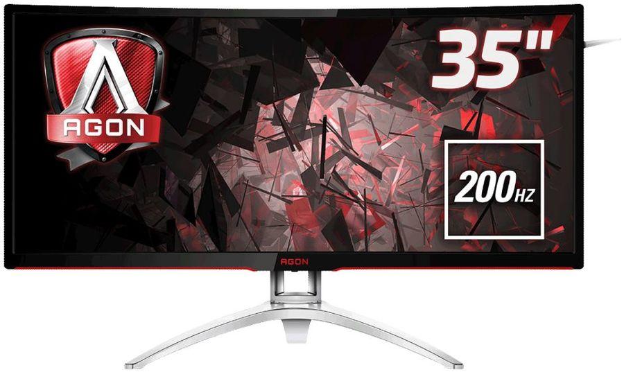 """Монитор AOC 35"""" Gaming AG352QCX MVA 2560x1080 200Hz FreeSync 300cd/m2 21:9"""