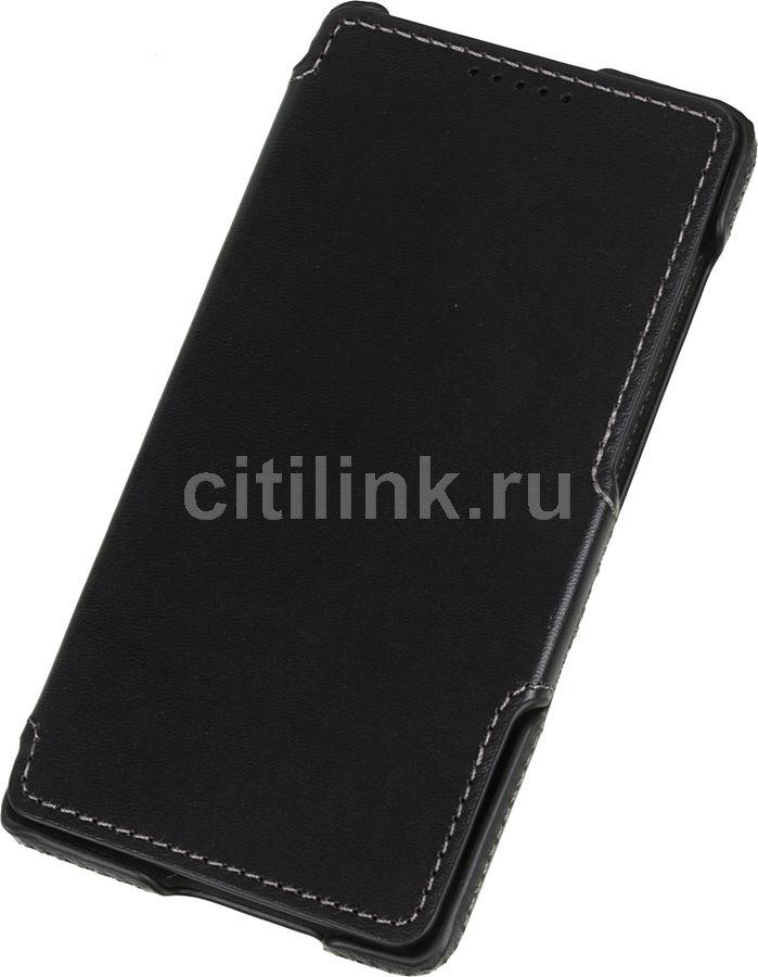 Чехол (флип-кейс)  Accentika, для Xiaomi Redmi 3 Pro, черный [uacxired3pbl]