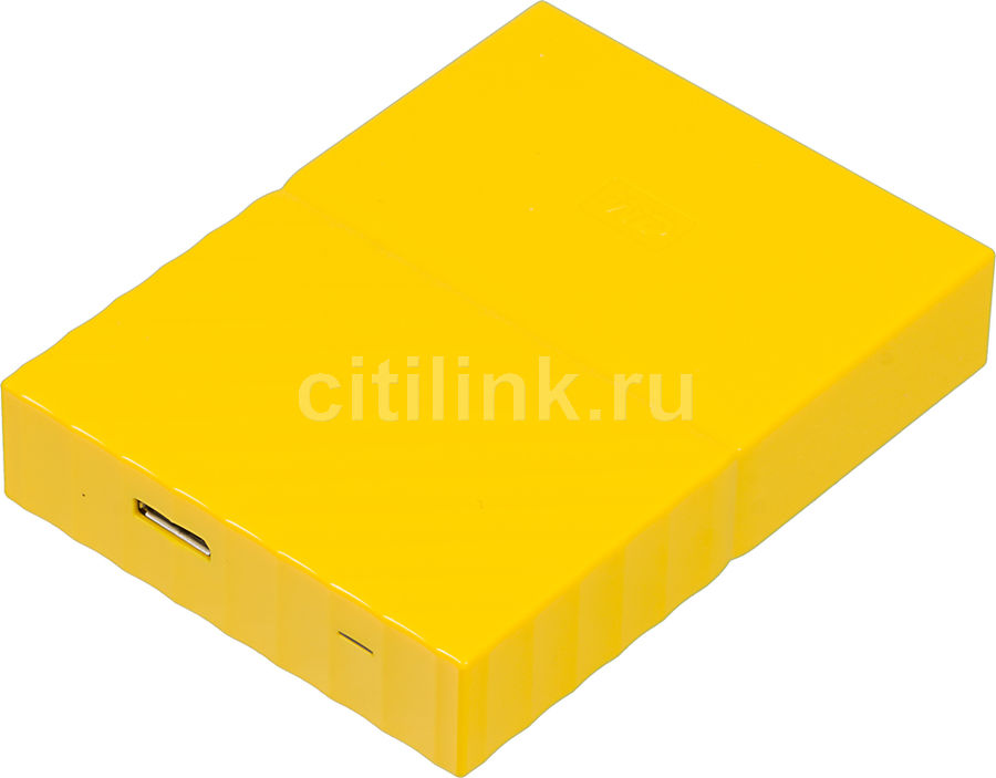 Внешний жесткий диск WD My Passport WDBUAX0040BYL-EEUE, 4Тб, желтый