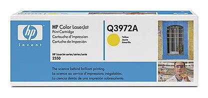 Картридж HP Q3972A желтый