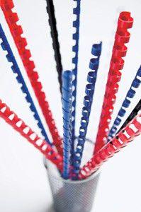 Пружина пластиковая FELLOWES CRC-53454,  8мм,  21 - 40 листов,  A4,  100,  белый
