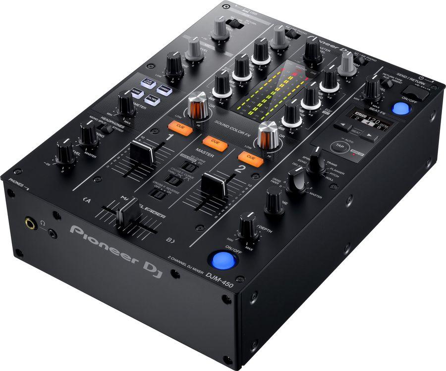 Музыкальный пульт PIONEER DJM-450