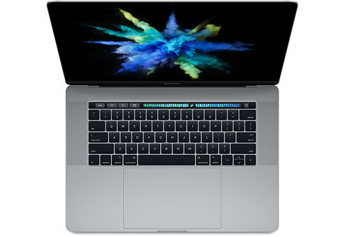"Ноутбук APPLE MacBook Pro MLH32RU/A, 15.4"", Intel  Core i7  6700HQ 2.6ГГц, 16Гб, 256Гб SSD,  AMD Radeon Pro  450 - 2048 Мб, Mac OS Sierra, MLH32RU/A,  серый"