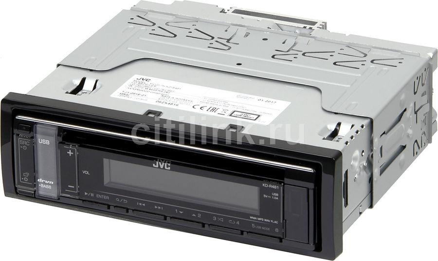 Автомагнитола JVC KD-R481,  USB