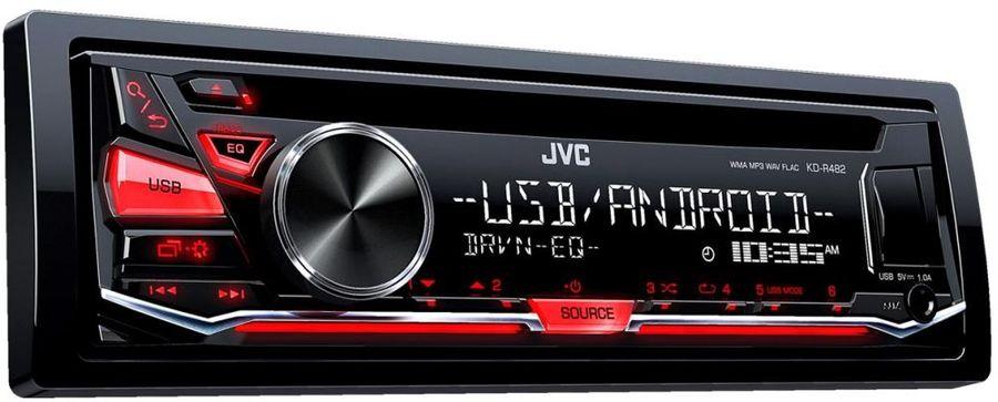 Автомагнитола JVC KD-R482,  USB