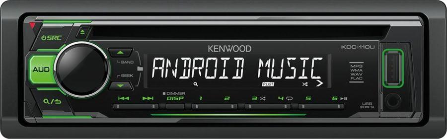 Автомагнитола KENWOOD KDC-110UG,  USB