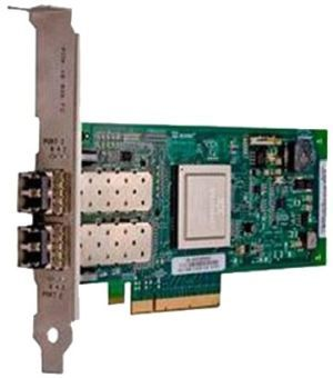 Адаптер Dell QLogic 2662 Dual Port 16GB Fibre Channel HBA Low Profile (406-10743) адаптер dell qlogic 2562 dual port 8gb fibre channel hba pci e x8 full profile kit 406 bbek mfp5