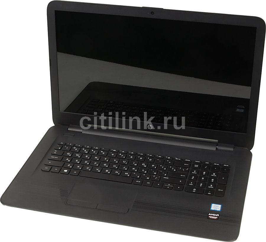 "Ноутбук HP 17-x044ur, 17.3"", Intel  Core i3  6006U 2ГГц, 6Гб, 1000Гб, AMD Radeon  R5 M430 - 2048 Мб, DVD-RW, Windows 10, 1BX95EA,  черный"