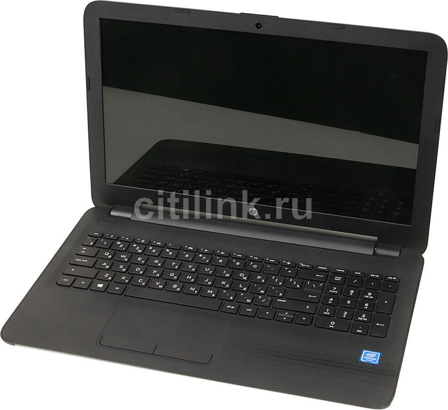 Ноутбук HP 15-ay576ur, 15.6, Intel Pentium N3710, 1.6ГГц, 8Гб, 500Гб, Intel HD Graphics 405, Free DOS, черный [1bx34ea]Ноутбуки<br>экран: 15.6;  разрешение экрана: 1366х768; процессор: Intel Pentium N3710; частота: 1.6 ГГц (2.56 ГГц, в режиме Turbo); память: 8192 Мб, DDR3L, 1600 МГц; HDD: 500 Гб, 5400 об/мин; Intel HD Graphics 405; WiFi;  Bluetooth; HDMI; WEB-камера; Free DOS<br>