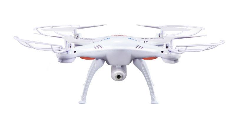 Квадрокоптер SYMA X5SC с камерой,  белый [x5sc white]