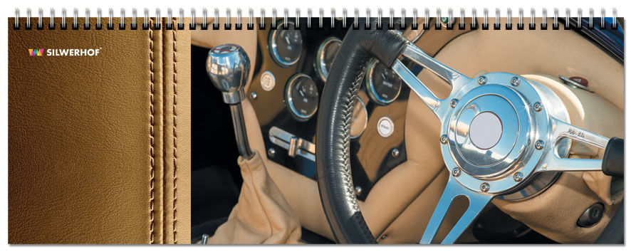 Планнинг SILWERHOF Интерьер авто,  недатированный,  61лист.,  картон мелованный [762027]