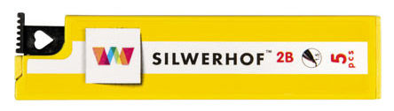 Грифель Silwerhof 151005-63 1.5мм 2B (5гриф)