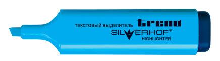Текстовыделитель для бумаги Silwerhof TREND 103001-22 скошенный пиш. наконечник (толщина линии 1-5мм