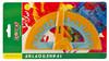 Транспортир Silwerhof 160071COLORFUL пластик 180градус. механизм выбора угла блистер